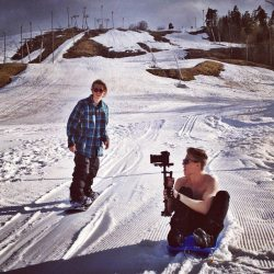 thesnowtriangle:  SS & Olav! I love Olav's photo
