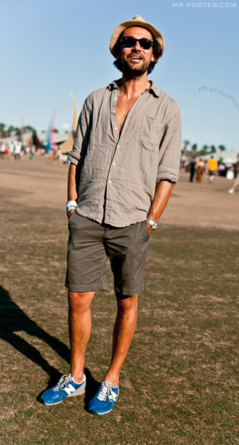 mrporter:  Four stylish guys we spotted among the crowds at Coachella  YES