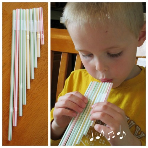DIY Magic Flute Made Out of Drinking Straws. What a great idea! Tutorial from Relentlessly Fun, Deceptively Educational here. *There is also a magic flute writing and drawing prompt and a YouTube Video of Mozart's The Magic Flute on this post.