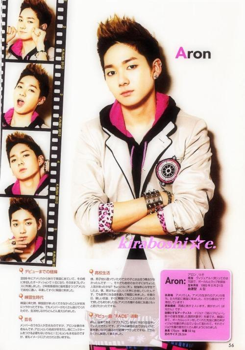 fuckyeah-aron:  Aron in K-Rush MagazineCredit as tagged