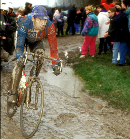 George in the 1994 edition of Paris-Roubaix