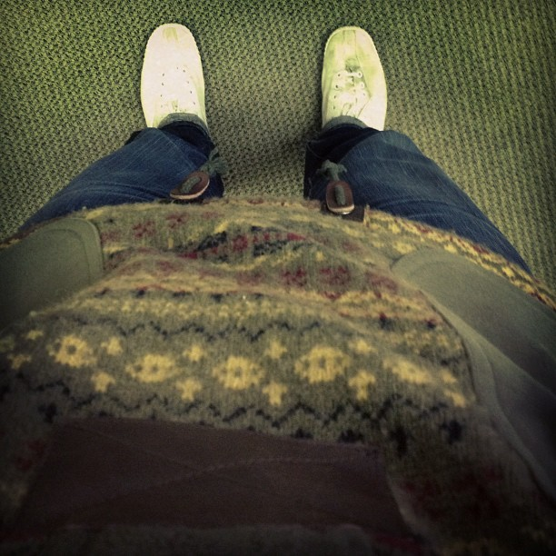 Junya and jeans.  (Taken with instagram)