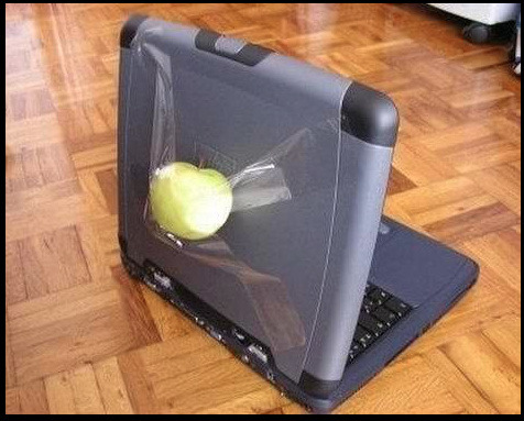 is this really a #apple computer, YES #LITERALLY