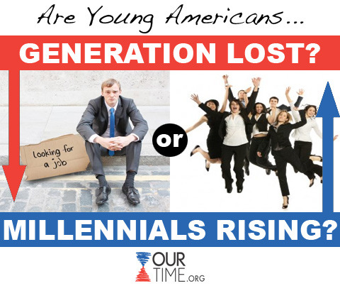 ourtimeorg:  Young Americans are resilient and ready to participate in growing our economy but more workforce opportunities must be created to capture our energy and potential. LIKE if you agree. SHARE once you've signed our ONE MILLION JOBS petition!
