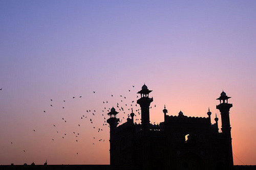 whoismanvir:  Badshahi-Mosque by GHULAM RASOOL MUGHAL on Flickr.