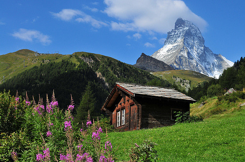 allthingseurope:  The Matterhorn from Zermatt, Switzerland (by Juan Rubiano)  Definitely on my Bucket List.
