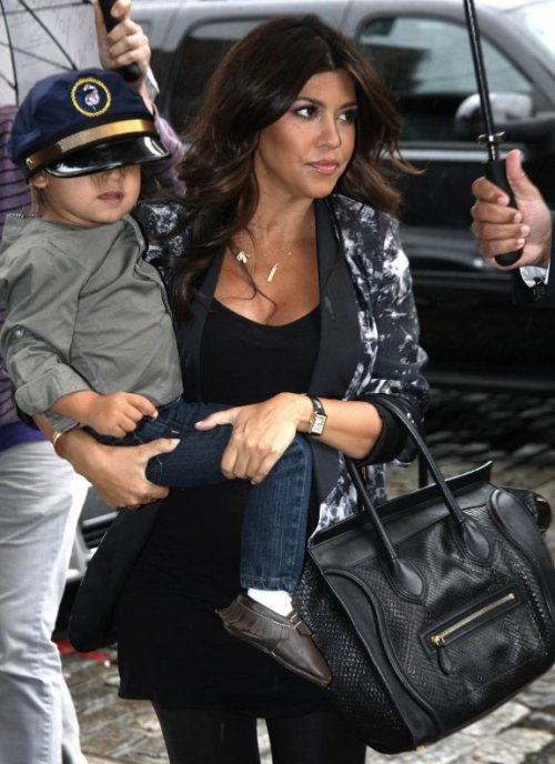 The number one rule of hats, Mason Disick, is that they're supposed to fit.