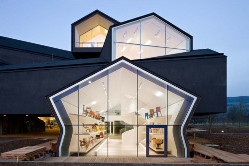 lana-m:  Vitrahaus by Herzog & de Meuron, a studio from Switzerland