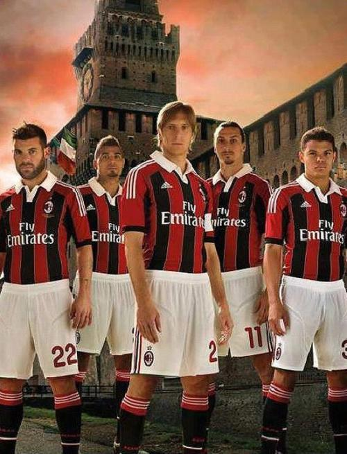 12/13 AC MILAN HOME KIT