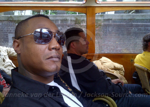@OfficialDealz and @pmarine4 in Amsterdam during a canal boat trip in 2011. @BJackson82 @FollowToyia @JackieJackson5