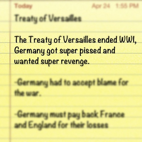 My history notes. #super  (Taken with instagram)