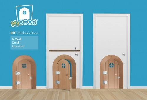 MyDoor DIY Kits Are Kid Sized Doors That Will Make A Playroom Or Bedroom  Much More Fun. These Mini Doors Can Be Installed In An Existing Door Or  Directly In ...