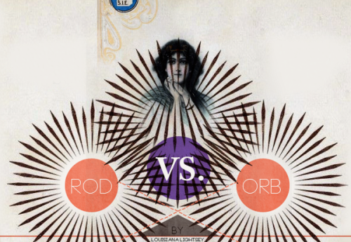 "I can't stop looking at this. Also, there's a poem: ""Rod vs. Orb"" by Louisiana Lightsey (via Paper Darts)"