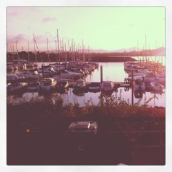Sunset @ pwllheli (Taken with instagram)