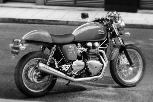 hellyeahthruxton900:  doubting-thomas:  Triumph Thruxton '12  In just two years time I will own you.   go for it man, you won't regret it. I'm loving mine.