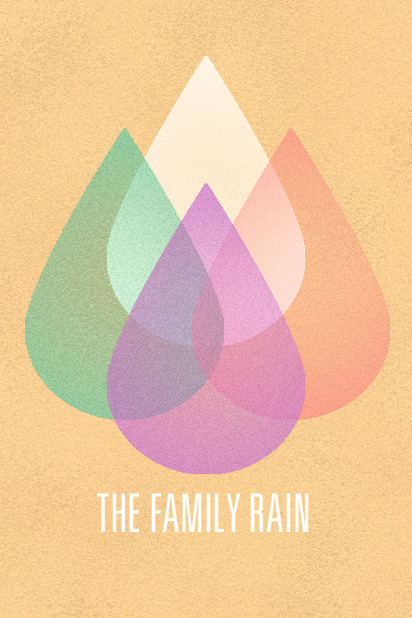 Cool poster from The Family Rain