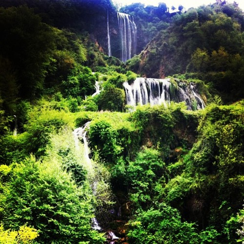 Marmore Waterfall- Europe's highest & it's in #Umbria @viadifrancesco #tbumbr  (Taken with instagram)