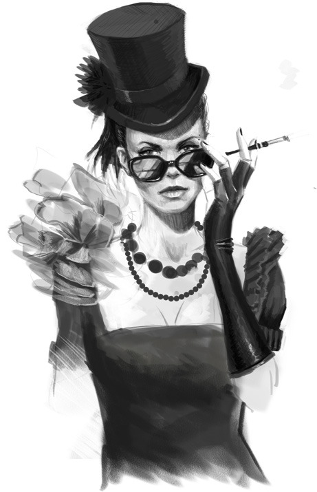 The gorgeous Mycroft Holmes from the new Steampunk Holmes interactive book. Steampunk beauties can be art! For more steampunk stuff, check out http://steampunkguides.com!