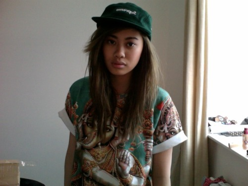 riohunnie:  projectthree65:  hindu x supreme  Ugh she's so cool such an inspiration