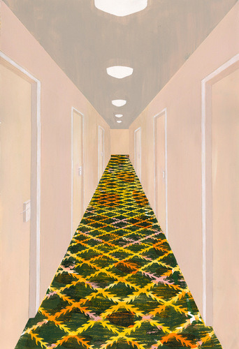 Hallway, Grand Rapids, MI by Carolyn Swiszcz | Buy the limited-edition art on 20x200.com here.
