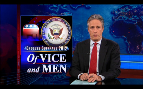 Nobody Wants to be Vice President The Daily Show took a look at the potential GOP nominees and their seemingly unanimous responses. via funnyordie