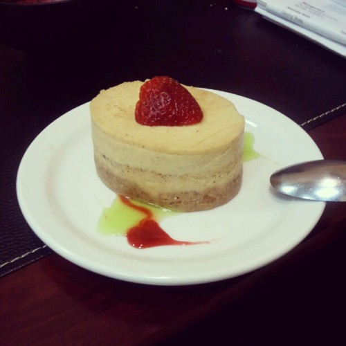 #cremebrulee #cheesecake (Taken with instagram)