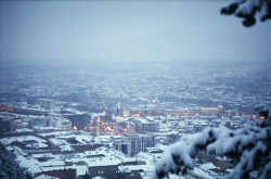 splitminded:  Tbilisi In Snow (by Tamar Burduli)