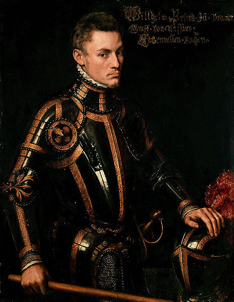 fuckyeahhistorycrushes:  This dapper gentleman was born in 1533 in Dillenburg (Hessen, Germany) as Count Wilhelm von Nassau-Dillenburg. He was the main leader of the Dutch revolt against the Spanish that set off the Eighty Year's War and resulted in the formal independence of the Republic of the United Netherlands in 1648. As the most influential and politically capable of the rebels he led the Dutch to several successes in the fight against the Spanish. Declared an outlaw by the Spanish king in 1580, he was assassinated in Delft (Netherlands) four years later. In the Netherlands he is known as the father of the fatherland, they even wrote him a song which was calld Het Wilhelmus and declared the Dutch national anthem in 1932. Also, he was one hell of a good looking man. No wonder Dutch people practically worship him!