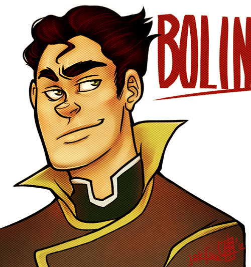 A quickie Bolin headshot for a warmup. I had a burning need to draw him! <3