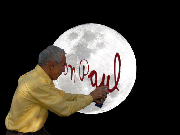 ronpaulspraypaintsthings:  moontagging.