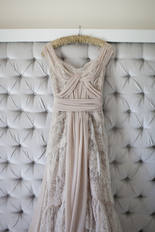 modern-wedding-thoughts:  This dress has an amazing drape and stunning texture… Its soft subtle and classy. Perfect!