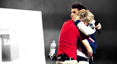 Niall Horan and Zayn Malik (posted originally on my 1D blog)