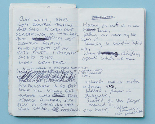 Ian Curtis' lyrics for She's Lost Control