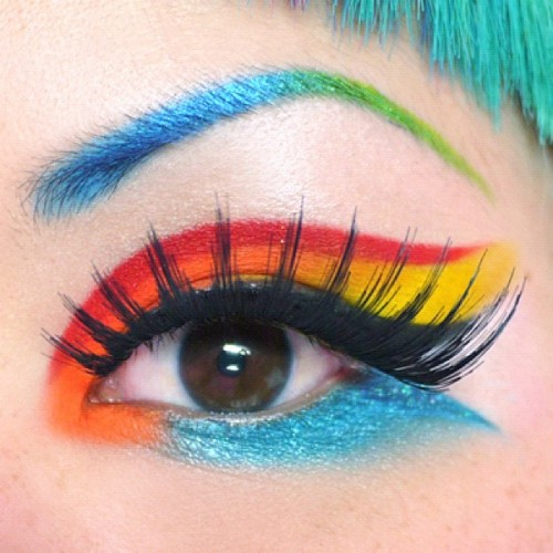cyberdogbrighton:  sugarpillcosmetics:  Eyes: Sugarpill Love+, Flamepoint, Buttercupcake, StarlingEyebrows: Starling, Midori, AbsintheLashes: Supreme http://instagr.am/p/JNYHVQFIRh/  Check out the gorgeous looks you can create with Sugarpill! We are now stocking a selection of the pressed and loose powders, as well as a selection of lashes <3 Keep checking back here, or on the Sugarpill tumblr for more inspiration ^^  I looooooove Sugarpill! <3 the colours are just too pretty for words :3