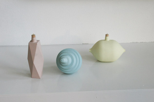 Marie Burkhard for MY BAUHAUS IS BETTER THAN YOURS / STARKE TYPEN IN PASTELL