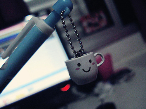 booksandtea:  a mug in a pen by m a r i e ★ on Flickr.