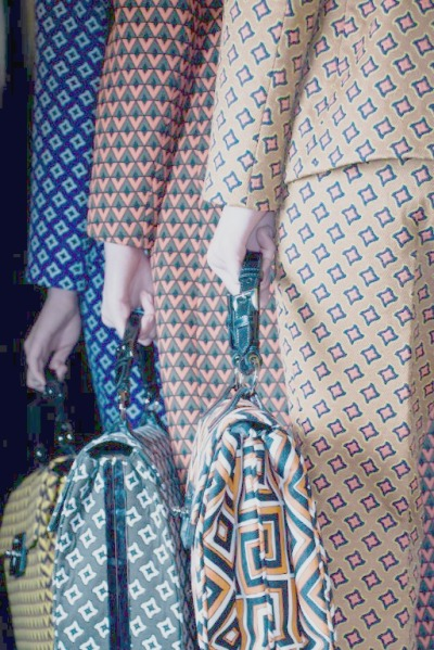 Graphics galore. the-front-row:  Prada fall 2012-13