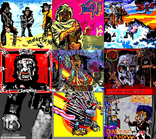 Illogical Contraption: HEAVY METAL ALBUM COVERS RE-CREATED IN MS PAINT (A Retrospective)