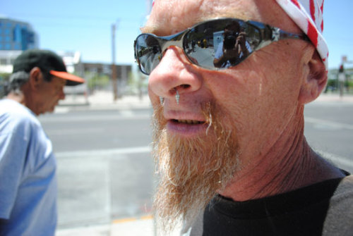 Reflections of a Homeless Man, 2011 Shot in Phoenix, AZ