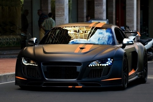 johnny-escobar:  Audi R8 PPI Razor GTR  Hot Daymn