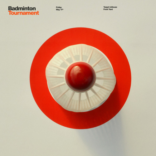 Target Badminton Design by David Schwen Follow: Twitter / Facebook / Tumblr / Behance