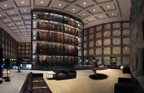 Yale University's Beinecke Rare Book and Manuscript Library   ….Yes Please
