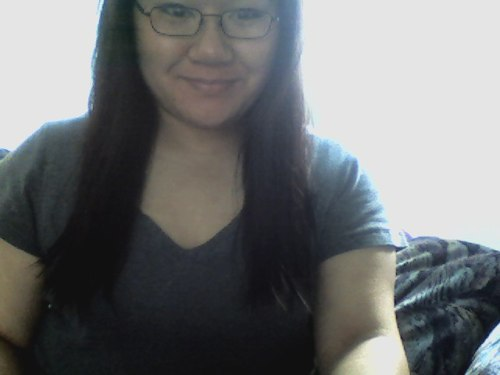 i got a hair cut. i can no longer put my hair into a side braid….. ):