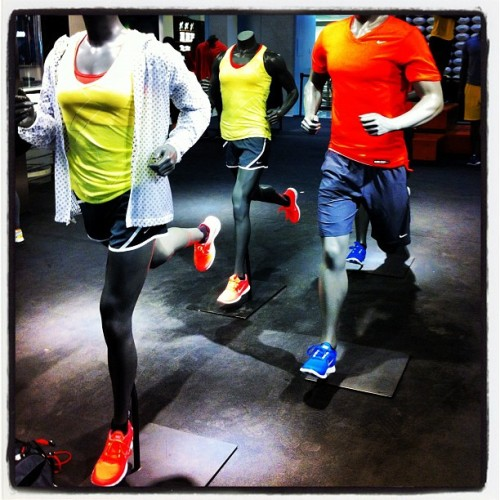 Going running again with the NikeTown Run Club (Taken with Instagram at NIKETOWN New York)