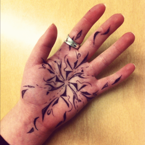 Hand doodles: abstract edition