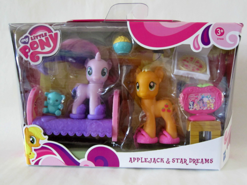Applejack & Star Dreams set:) In the next post, i will publish a picture of the backward (remember you can just ask anything using the ask me button).