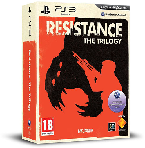 Resistance Trilogy Pack coming to PlayStation 3  Amazon France has revealed that Sony Computer Entertainment will soon be releasing a new software bundle for the PlayStation 3.