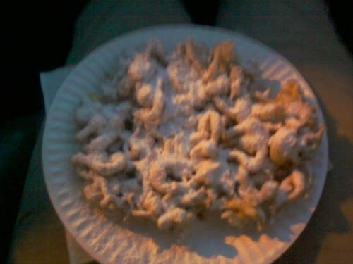 Biggest funnel cake i ever had