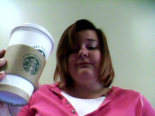 This was me at school today! I needed coffee just to get through my day. I have a five page research paper due on Monday, a group project due Thursday, and a bunch of other stuff to do. I'm so ready to get ready for this summer. Summer semester is gonna be the shit and everything is going to be so awesome. I'm just ready for this semester to be over.