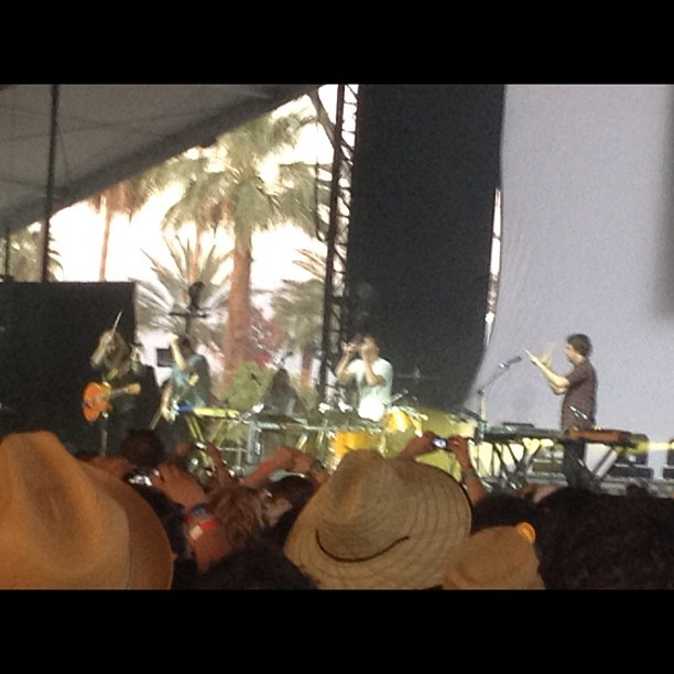 Gotye was amazing!! 😃 #gotye #coachella #day3 #festival  (Taken with instagram)